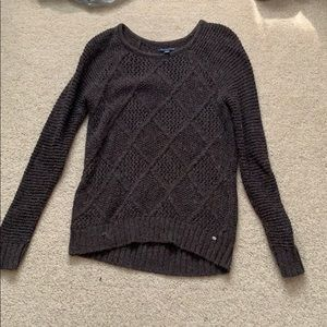 Brown over sized sweater
